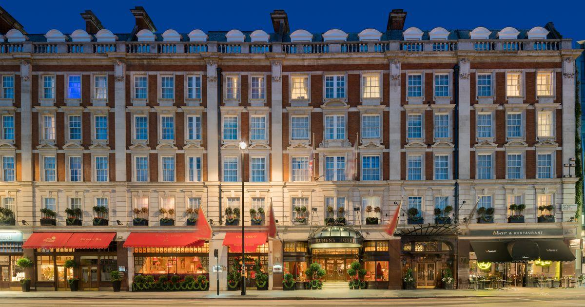 The London restaurant...